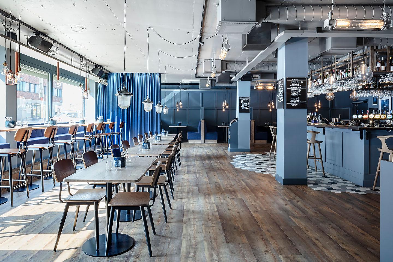 Bar, Inbetween, &tradition, Studio A3, platsbyggt. Restaurang. Jotun,